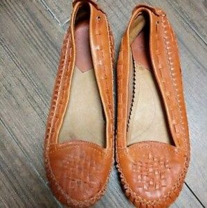 Lucky brand moccasins size 7.5